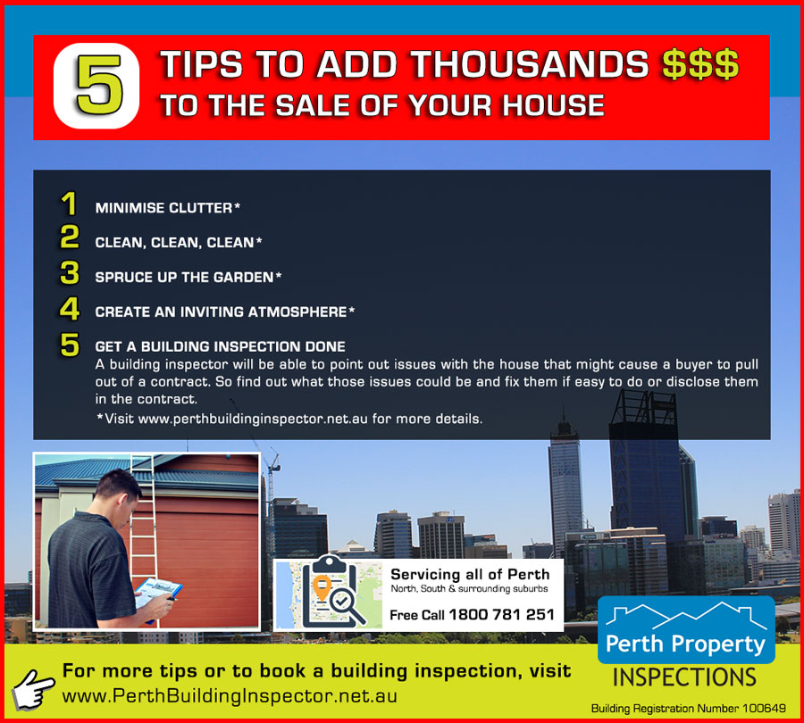 5 tips to increase house sale price
