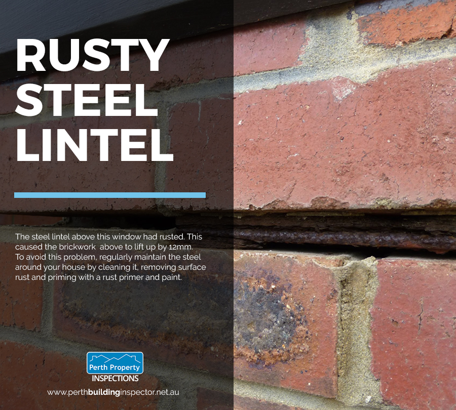 What Paint To Use On Rusty Lintels
